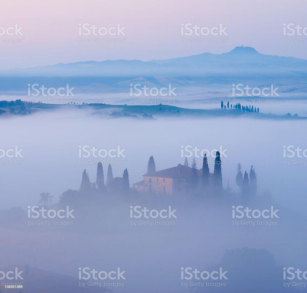 Belvedere - tuscany italy royalty-free stock photo