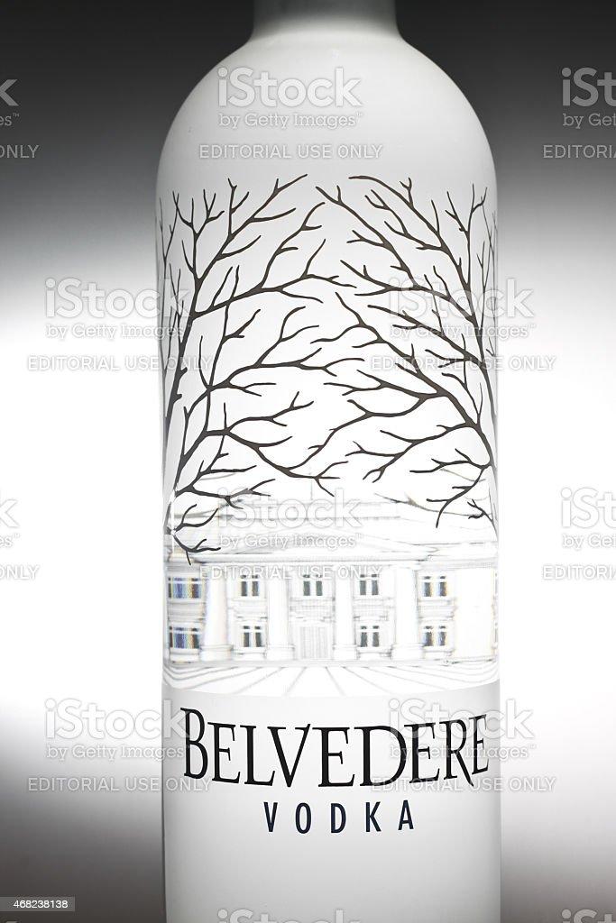 Belvedere Vodka stock photo