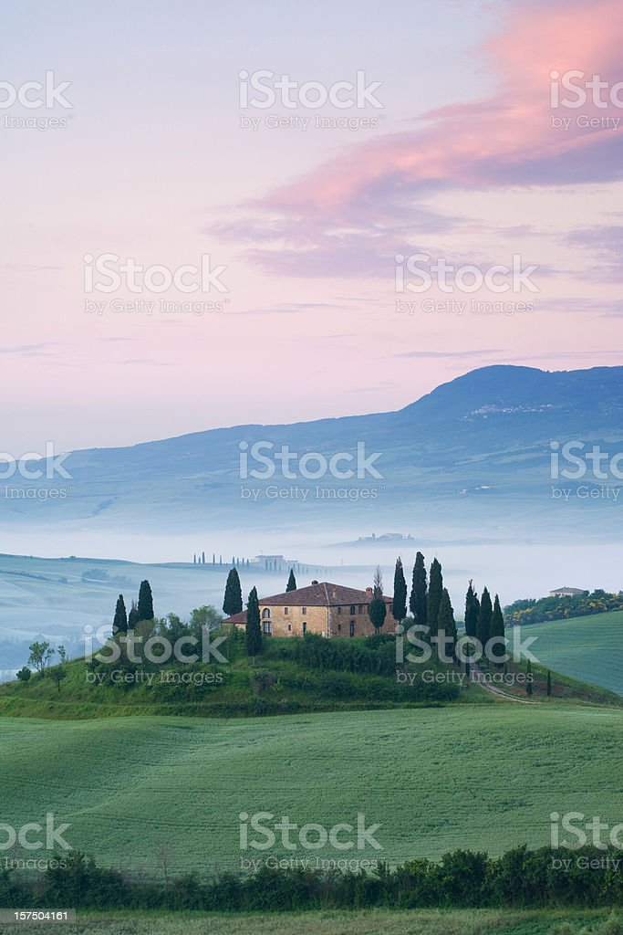belverdere - tuscany royalty-free stock photo