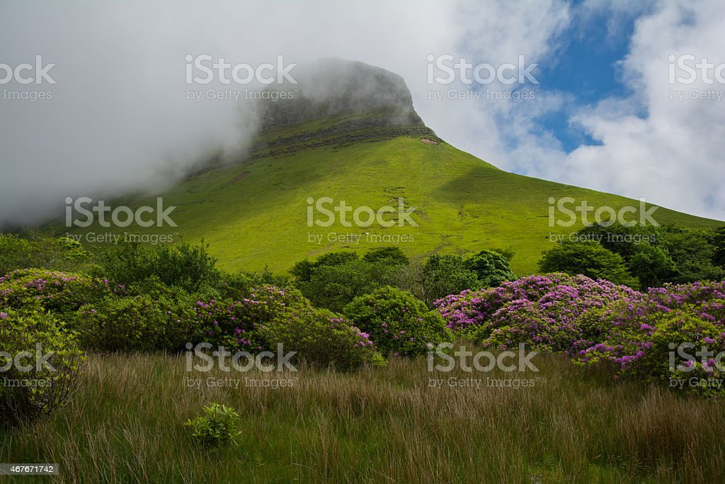 Ben Bulben, Republic of Ireland stock photo