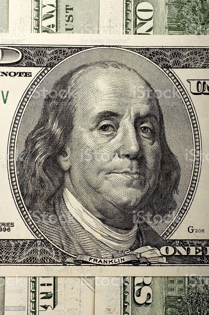 Ben Franklin royalty-free stock photo