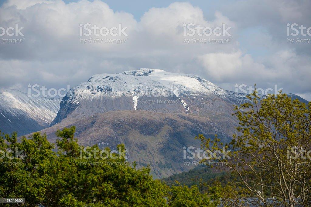 Ben Nevis Scottish Highlands stock photo