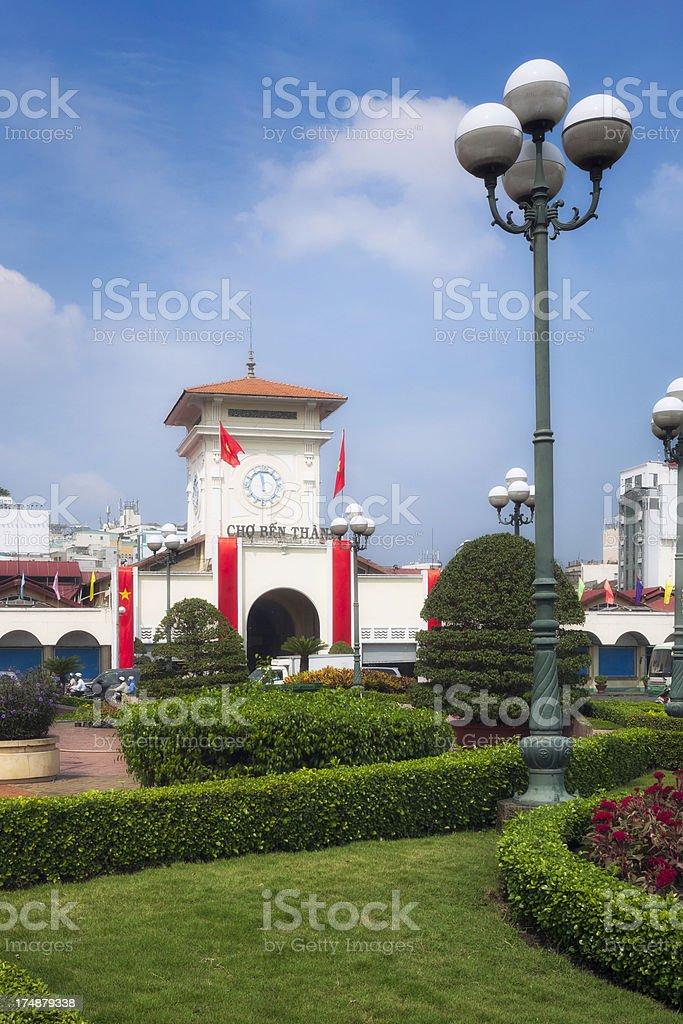 Ben Thanh Market royalty-free stock photo