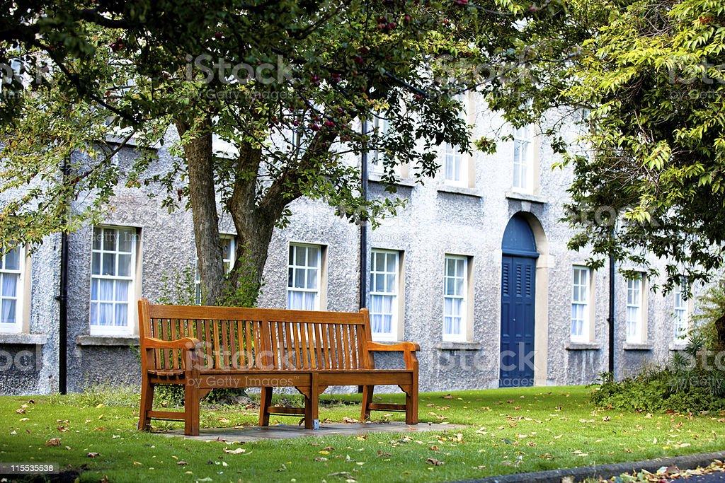 Bench lounge stock photo