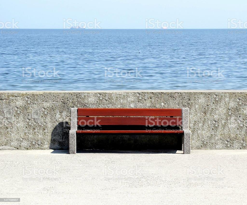 bench royalty-free stock photo