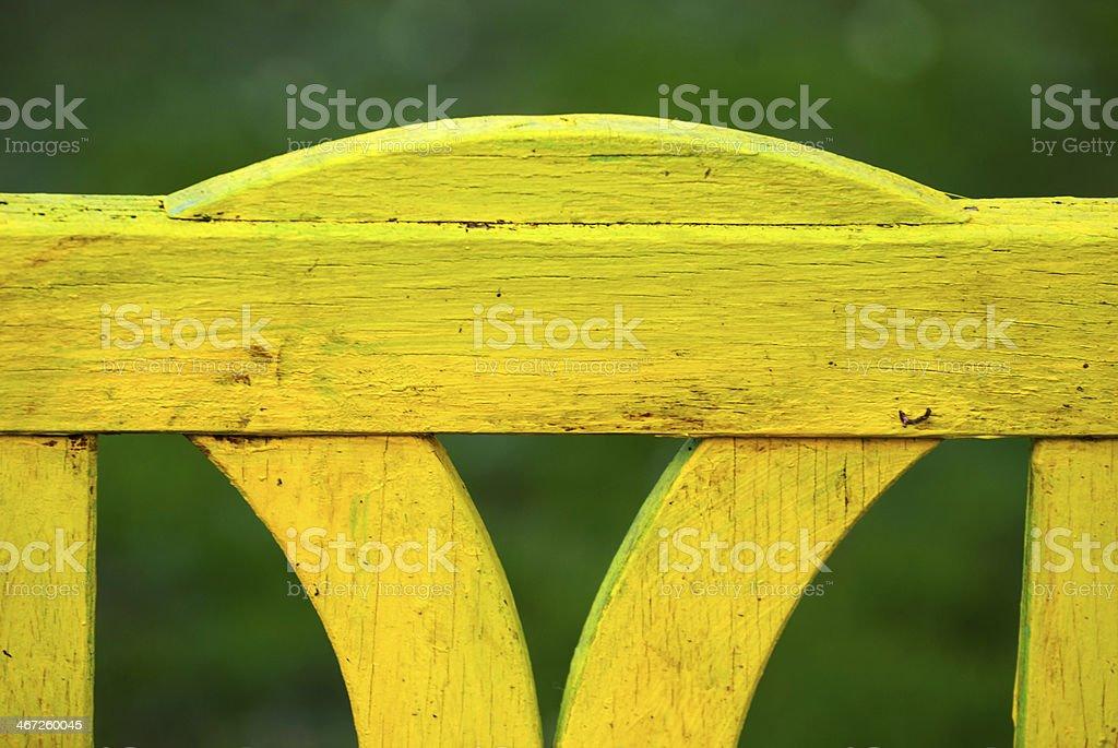 Panchina. stock photo