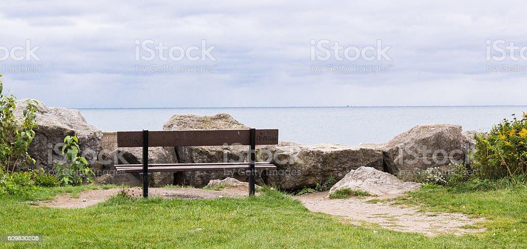 Bench. royalty-free stock photo