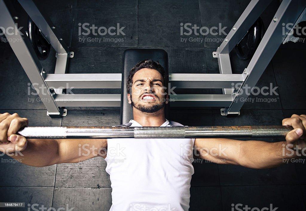 Bench Press royalty-free stock photo