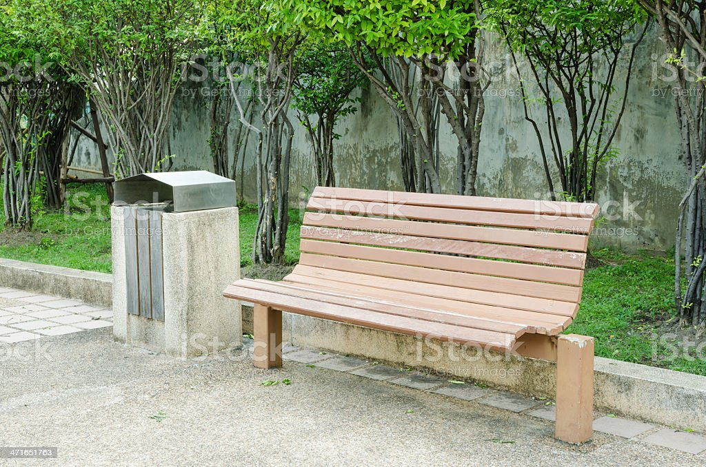 Bench wood royalty-free stock photo