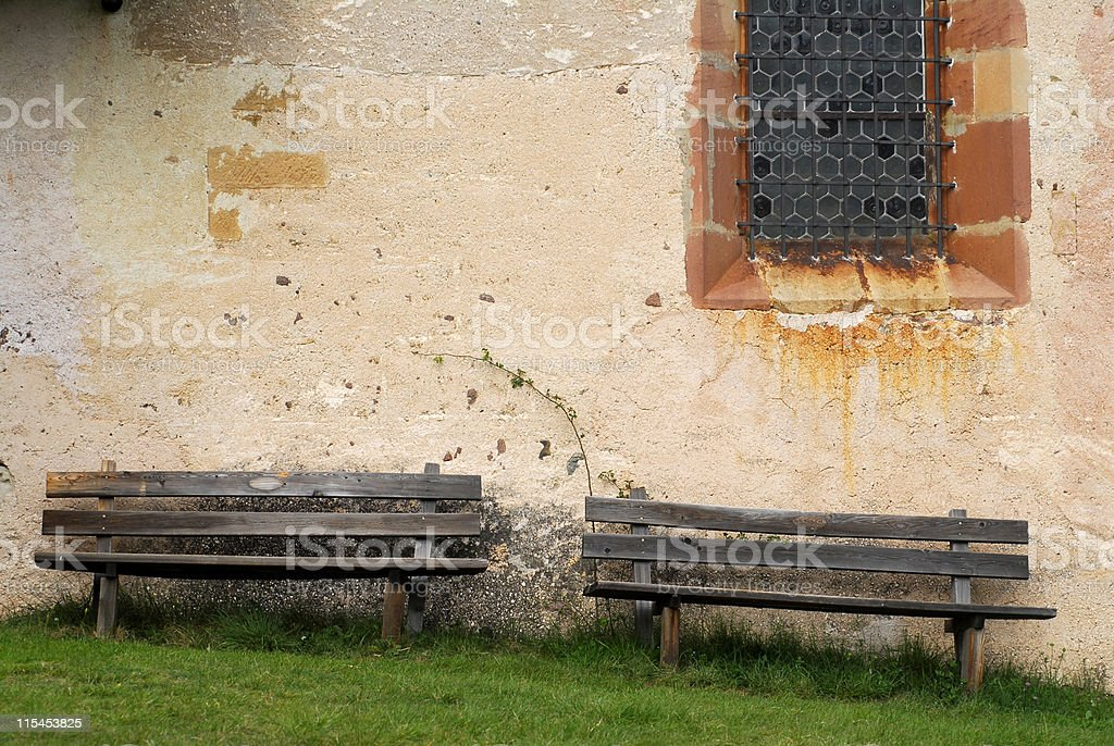 benches stock photo