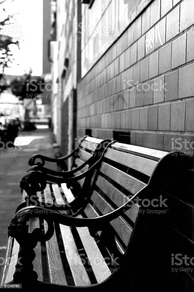 benches royalty-free stock photo