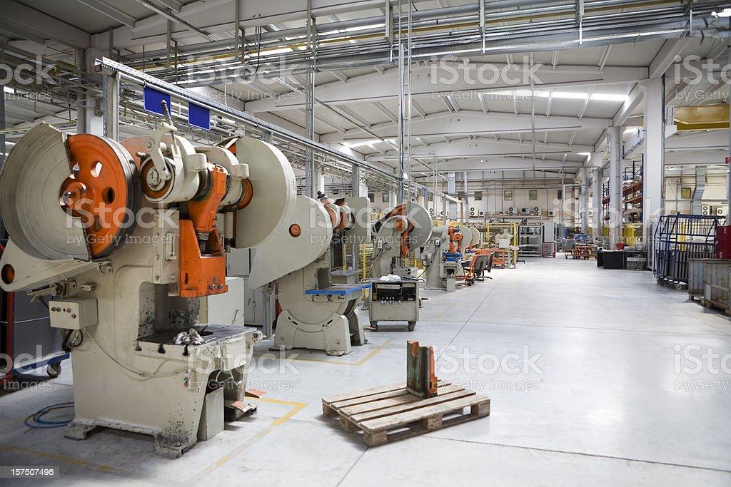 Bending Machines stock photo