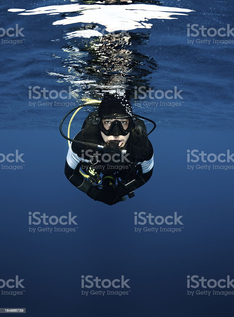 Beneath the surface royalty-free stock photo