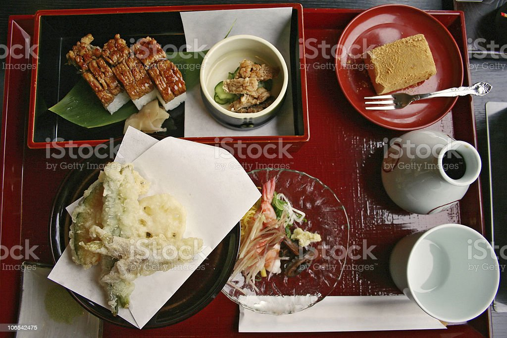 Bento Set royalty-free stock photo