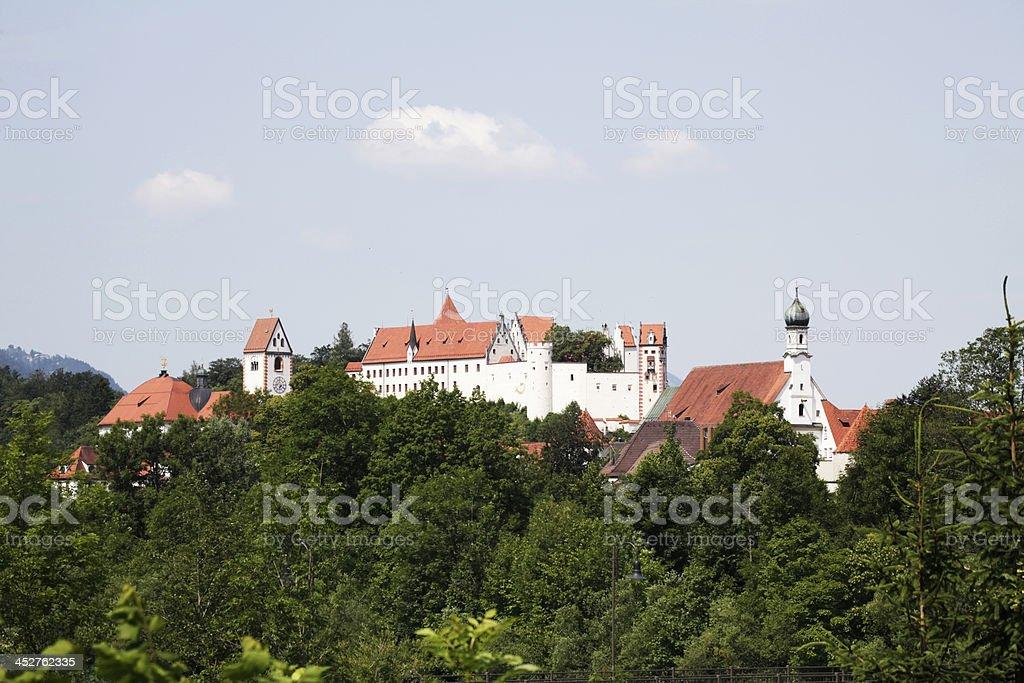 Benedictine Abbey, Fussen royalty-free stock photo