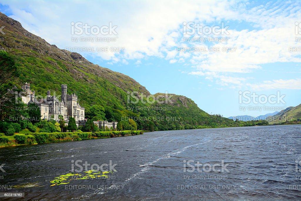 Benedictine abbey, Kylemore, Ireland stock photo