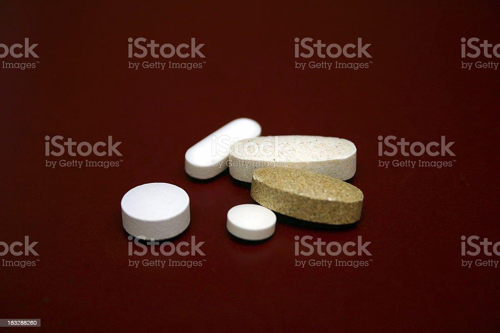 beneficial vitamins royalty-free stock photo