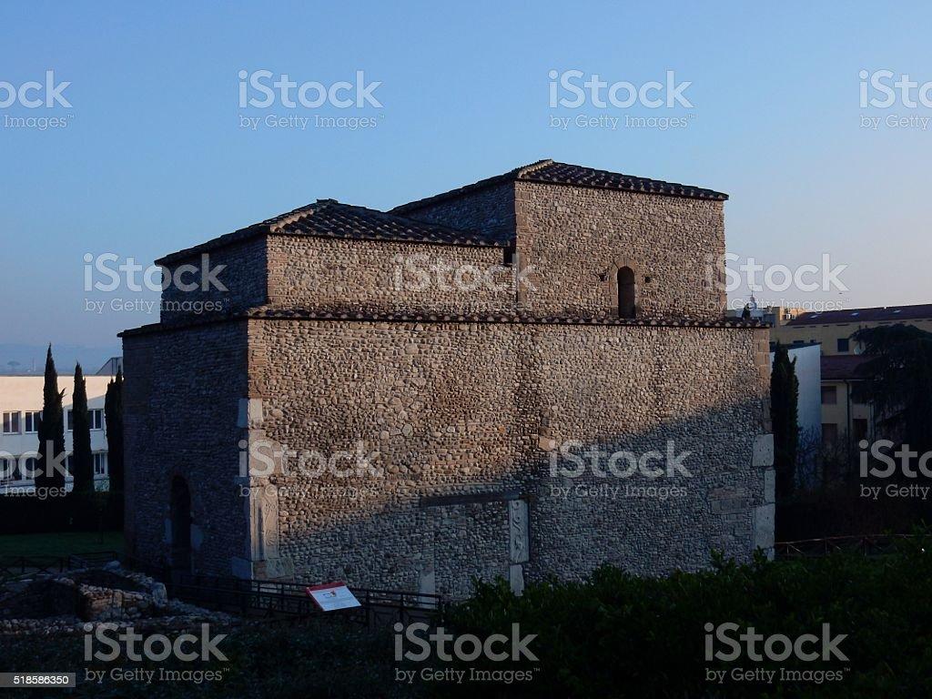 Benevento – Chiesa di Sant'Ilario stock photo