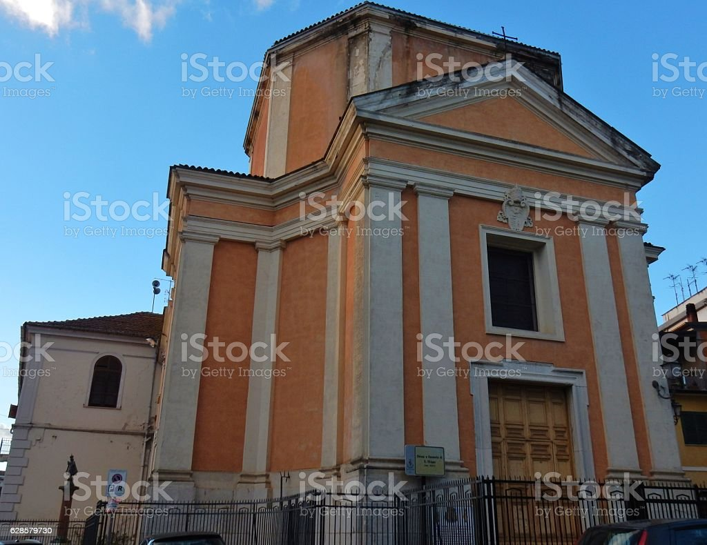 Benevento - Chiesa di San Filippo Neri stock photo