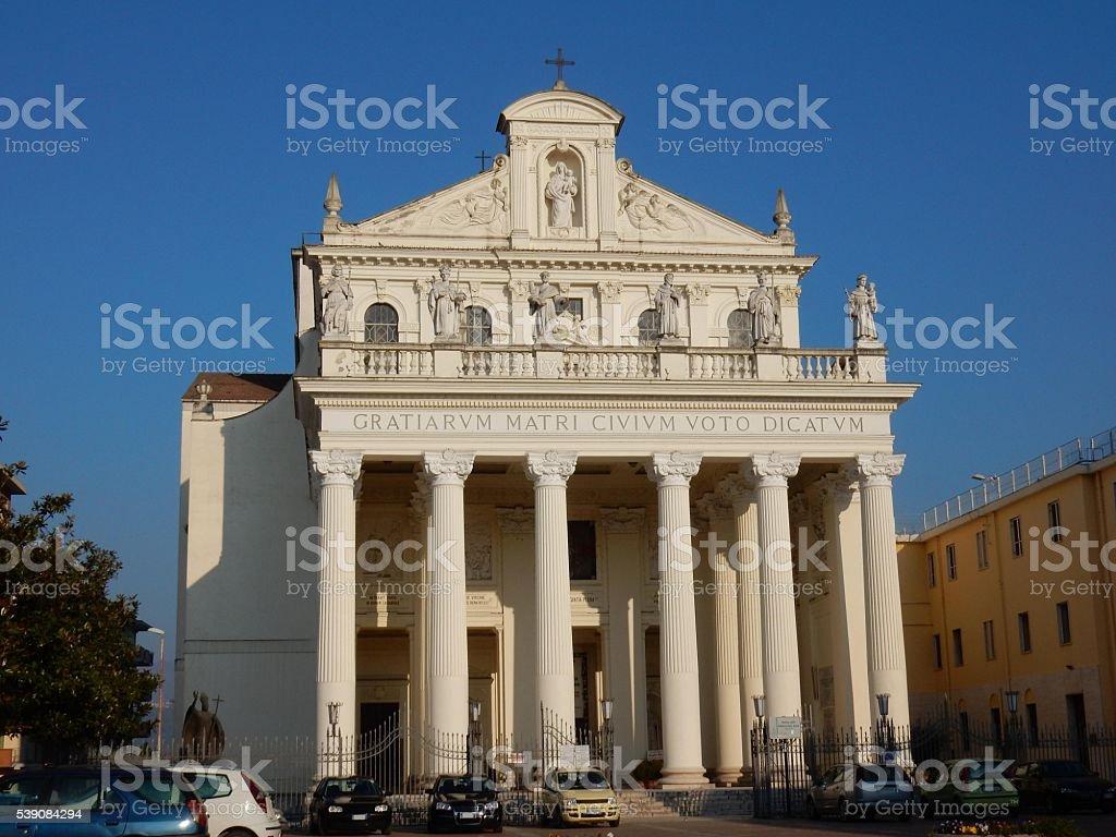 Benevento - Madonna delle Grazie stock photo