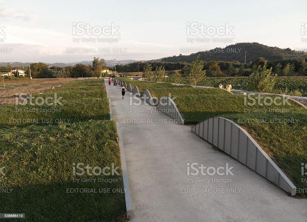 Benevento - Parco Archeologico stock photo
