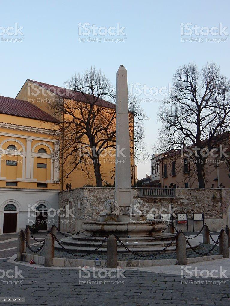 Benevento - Piazza Matteotti stock photo