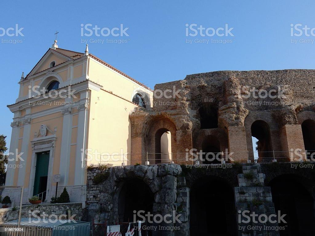 Benevento - Santa Maria della Verità stock photo