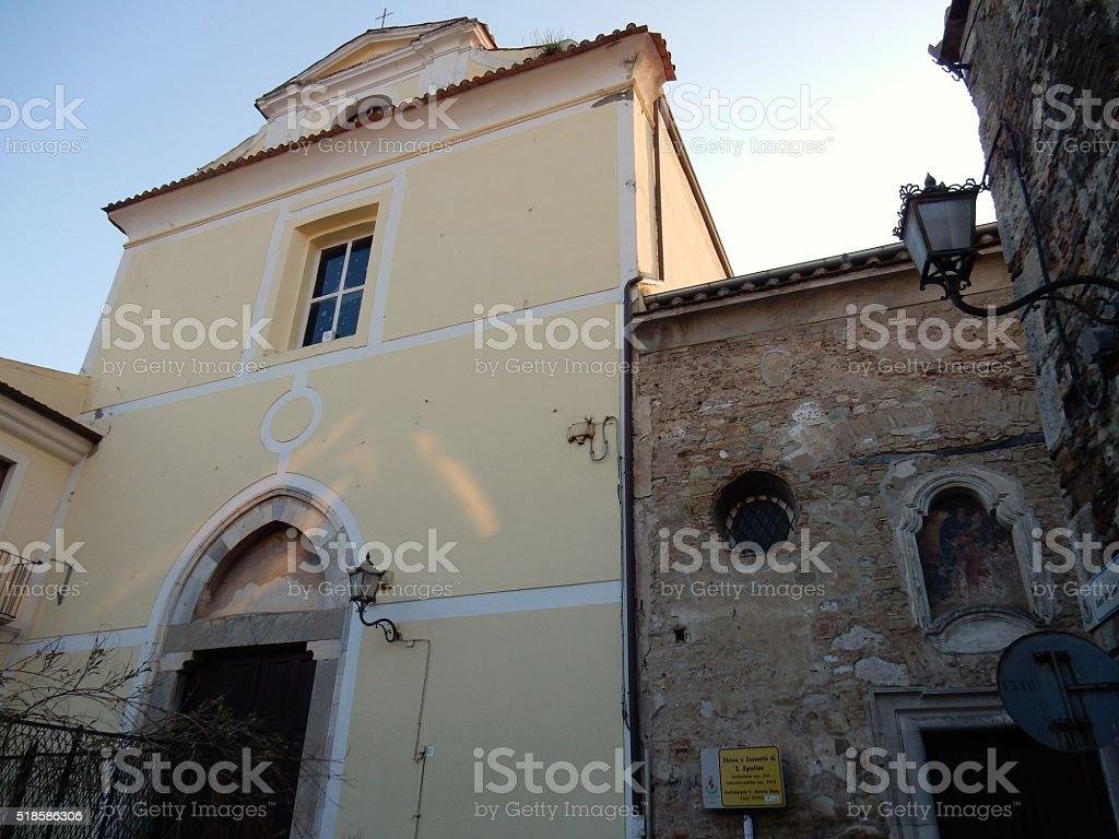 Benevento - Sant'Agostino stock photo