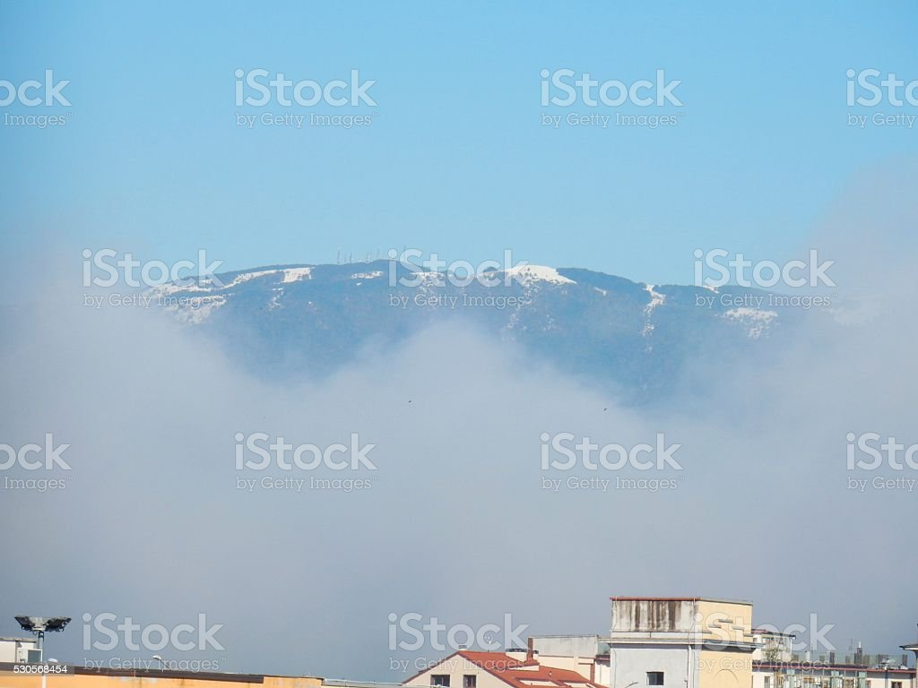 Benevento - Cima del Taburno stock photo