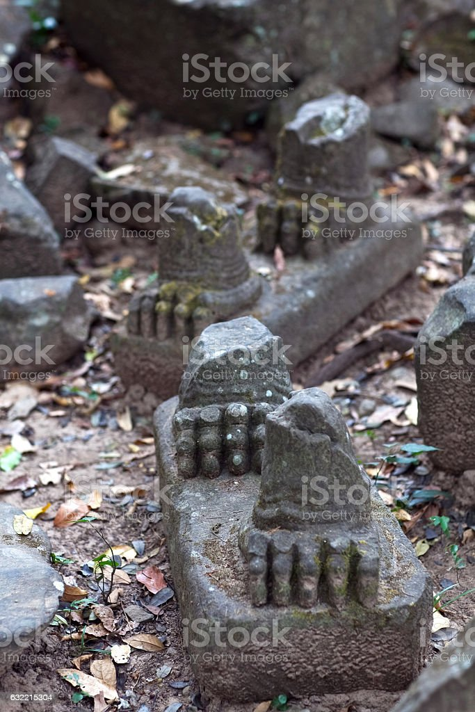 Beng Mealea Temple, Cambodia stock photo