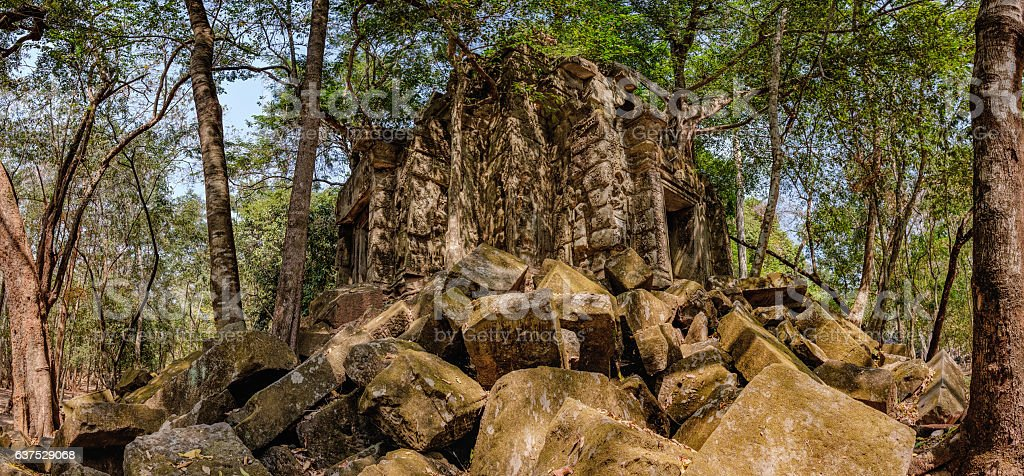 Beng Melea, Angkor, Cambodia stock photo
