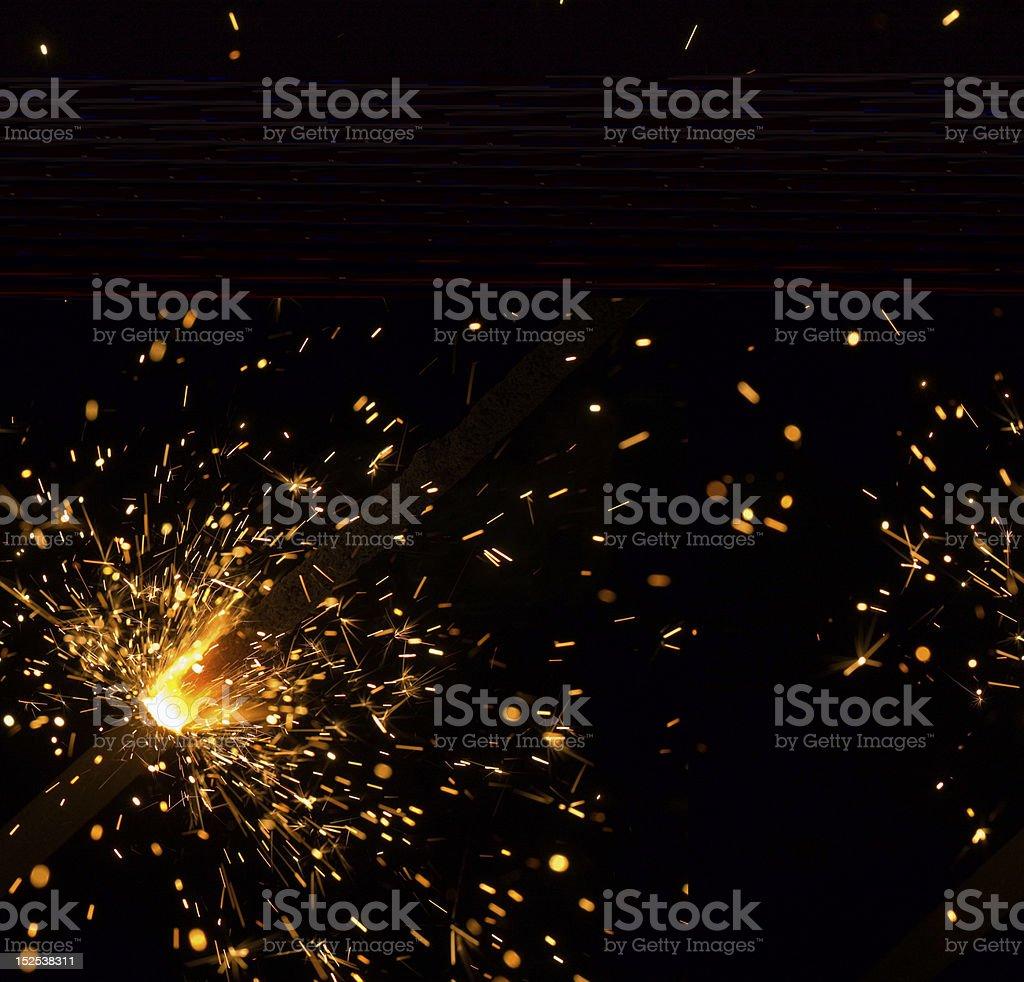 Bengal fires stock photo