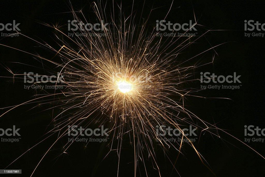 Bengal light royalty-free stock photo