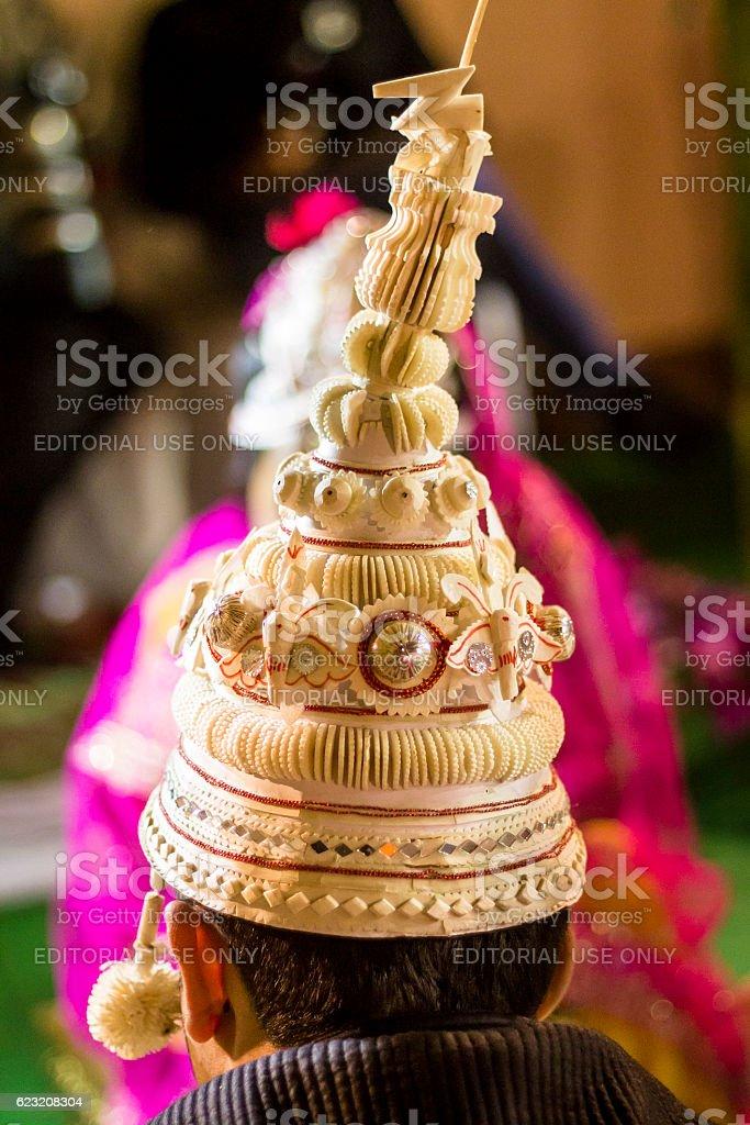 Bengali wedding. stock photo