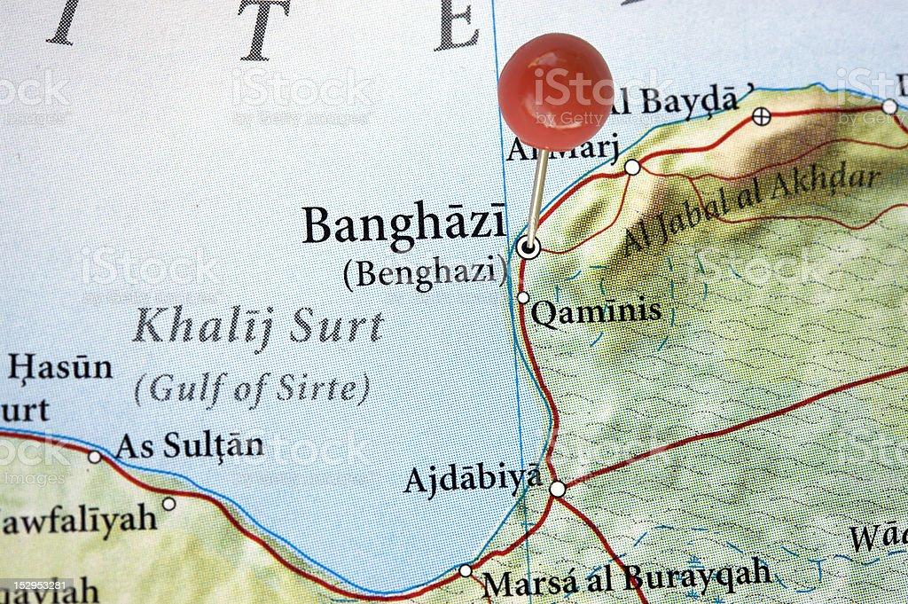 Benghazi Libya royalty-free stock photo