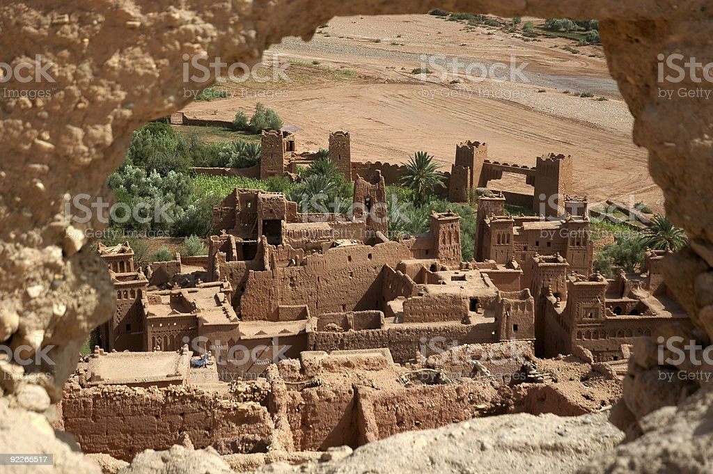 Benhaddou Kasba stock photo