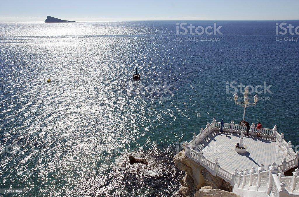 Benidorm royalty-free stock photo