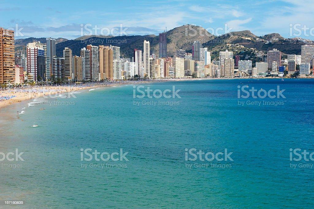 Benidorm-Spain stock photo