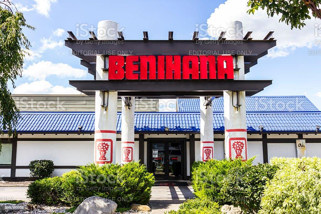 Benihana Japanese Teppanyaki Restaurant I stock photo