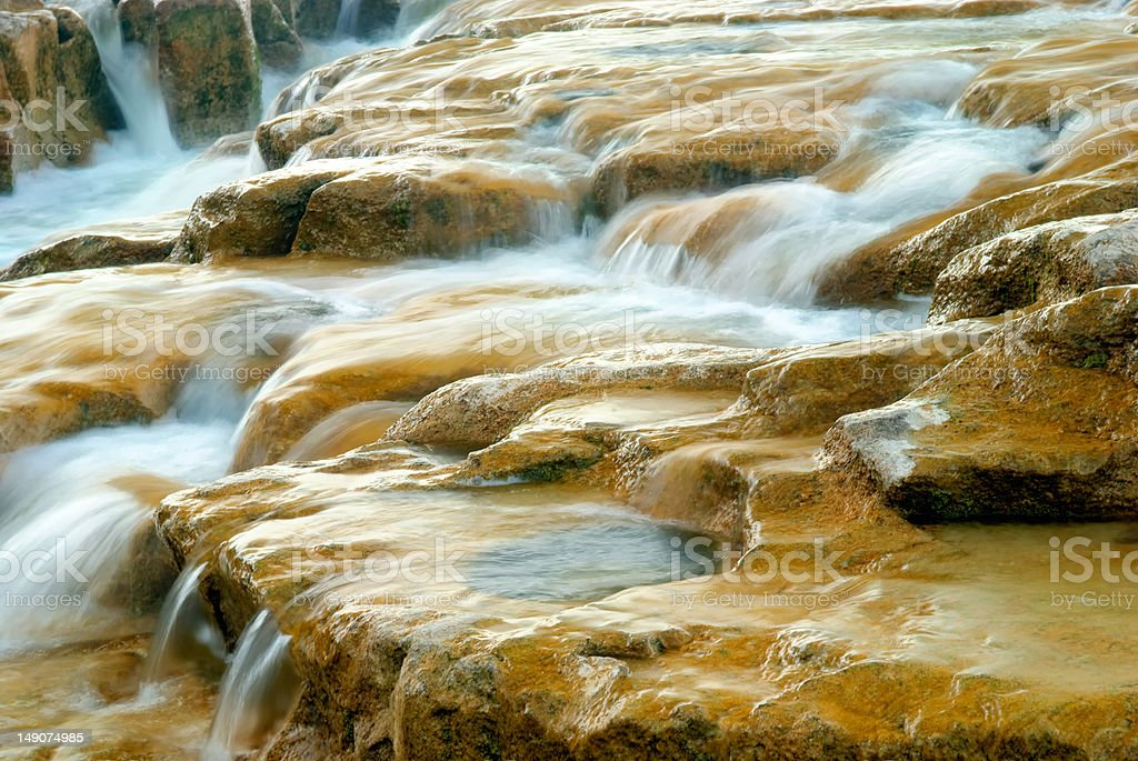Benmiller Falls stock photo