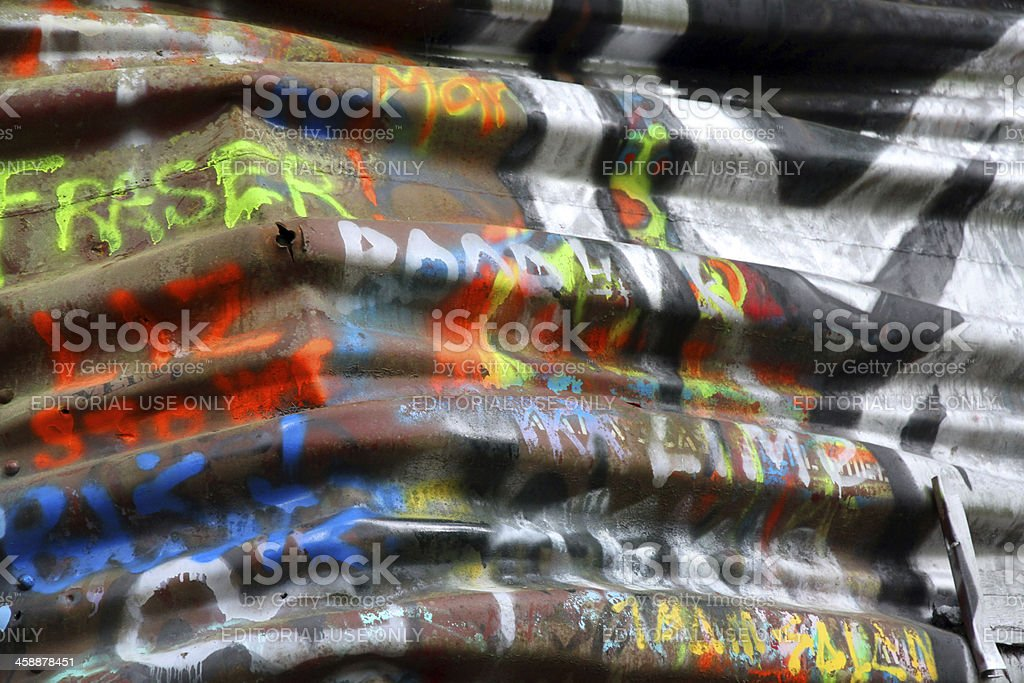 Bent Message royalty-free stock photo