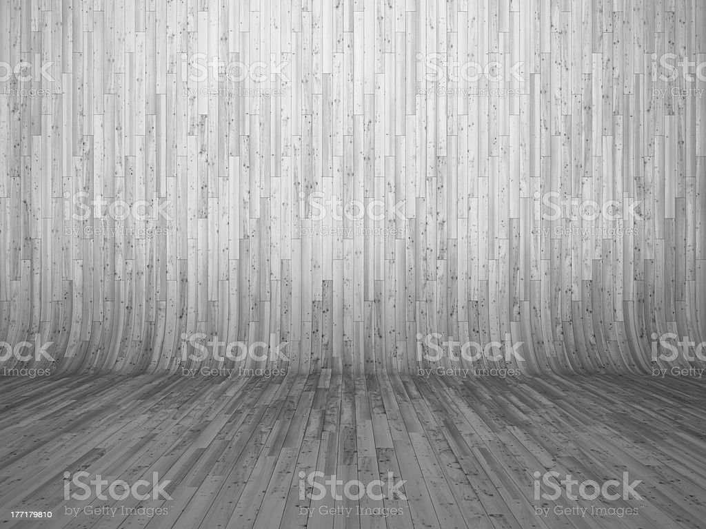 Bent parquet royalty-free stock photo