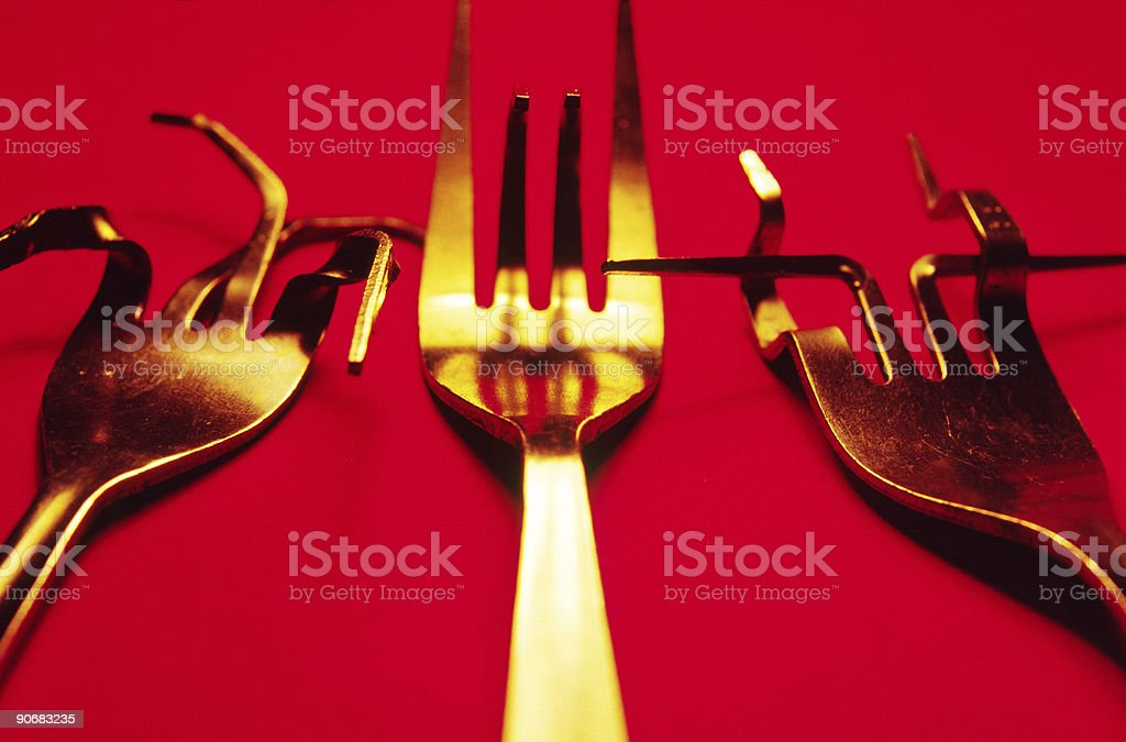 Bent royalty-free stock photo