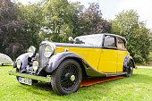 Bentley 3.5 litre Park Ward Sports Saloon 1934 vintage car