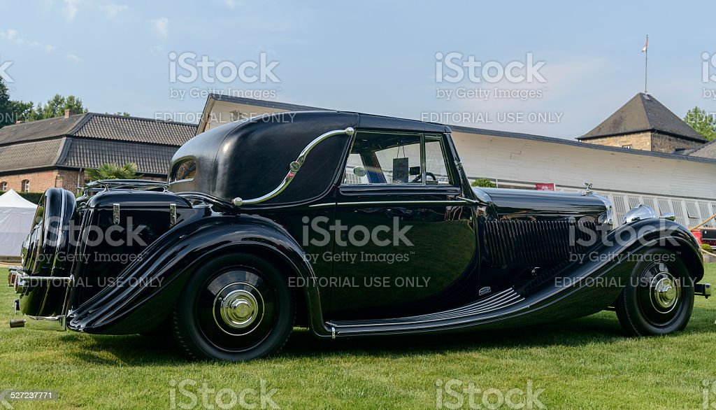 Bentley 41/4 Litre Faux Cabriolet stock photo