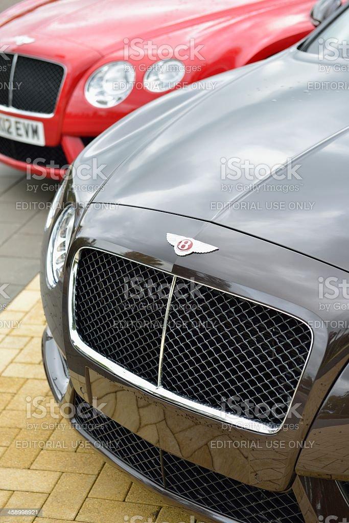 Bentley Continental GT stock photo