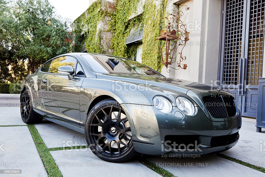 Bentley Continental royalty-free stock photo
