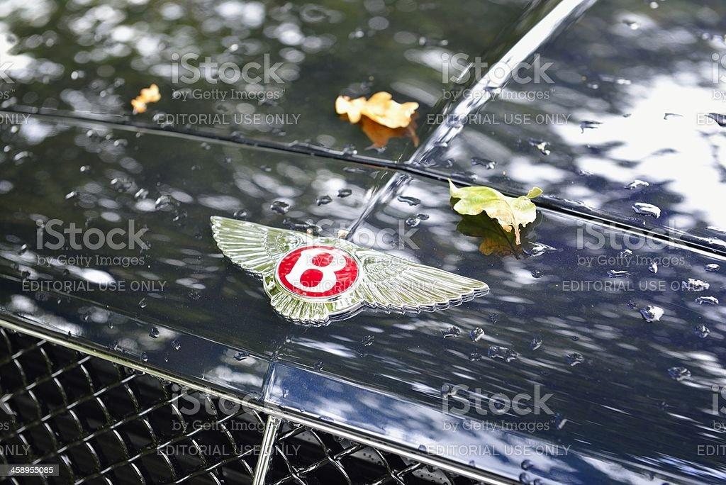 Bentley logo stock photo