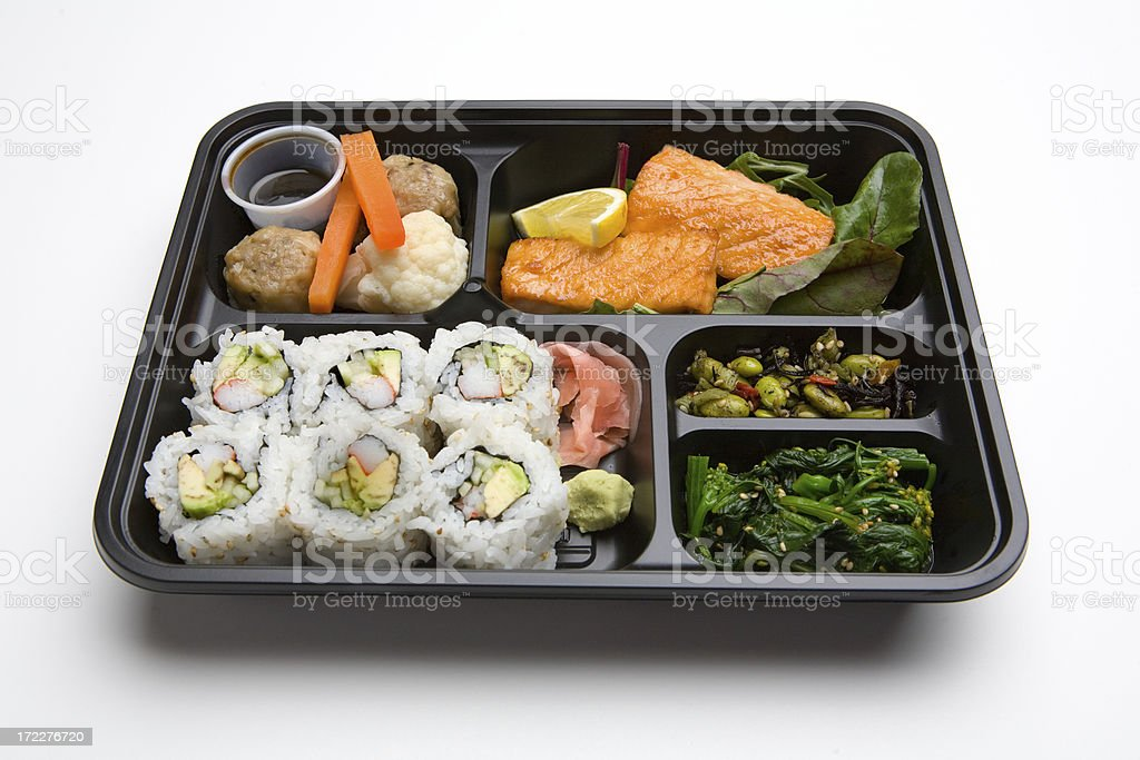 Bento Box Lunch royalty-free stock photo