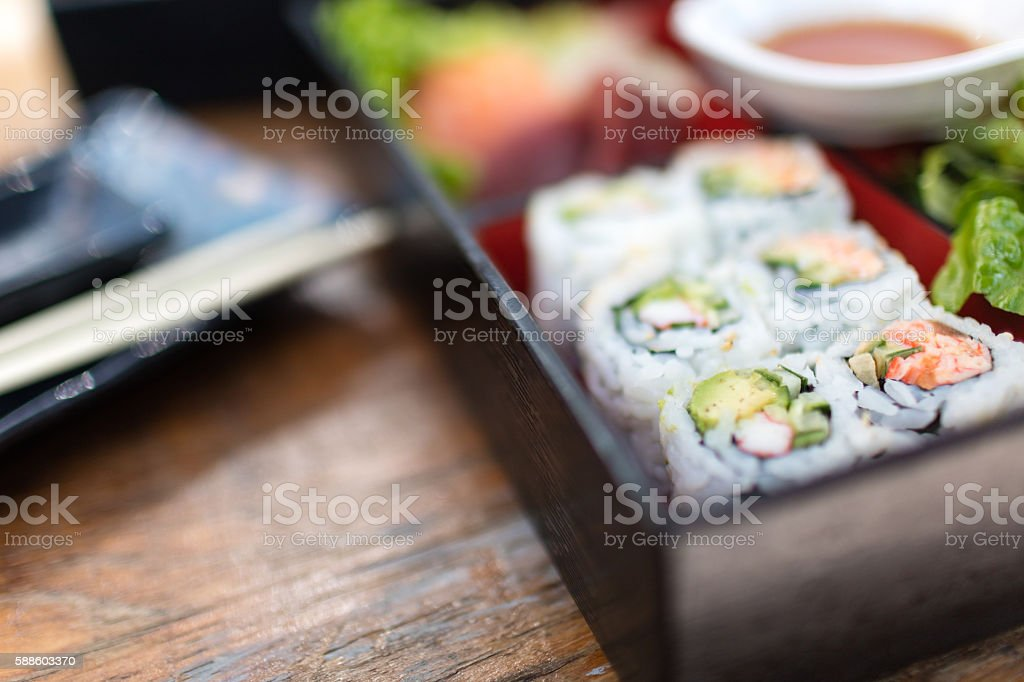 Bento box stock photo